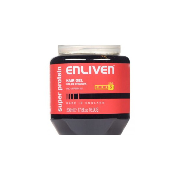 Enliven hair gel super protein red 500ml 300x300 1